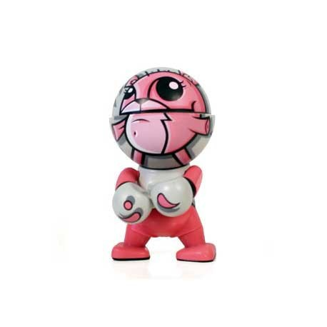 Figuren Trexi Pink Cat von Joe Ledbetter Play Imaginative Designer Toys Genf