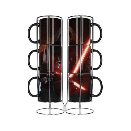 Figuren 3 Star Wars Kylo Ren Stapelbare Tassen SD Toys Genf Shop Schweiz
