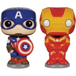 Pop Homewares Set Salière et Poivrière Avengers