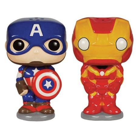 Figurine Pop Homewares Set Salière et Poivrière Avengers Funko Boutique Geneve Suisse