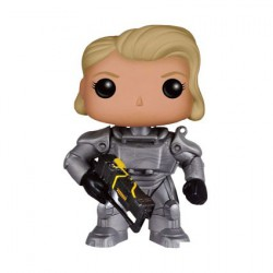 Pop Games Fallout Female Warrior In Power Armor édition limitée