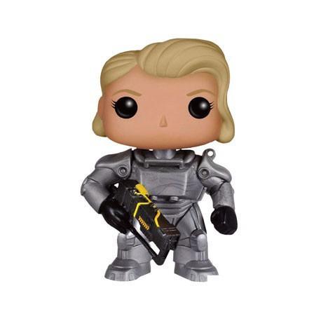 Figur Pop Games Fallout Female Warrior In Power Armor limited edition Funko Geneva Store Switzerland
