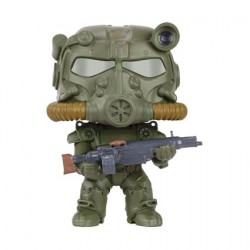 Figuren Pop Games Fallout T60 Green Power Armor limitierte Auflage Funko Figuren Pop! Genf