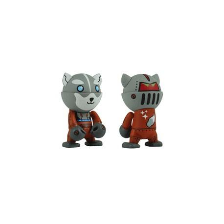 Figurine Trexi série 3 Husky Robot Mini par Husky Kevin Play Imaginative Boutique Geneve Suisse