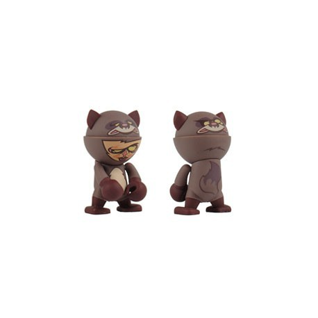 Figur Trexi série 3 Raccoon Boy by Ready2Rumble Play Imaginative Designer Toys Geneva