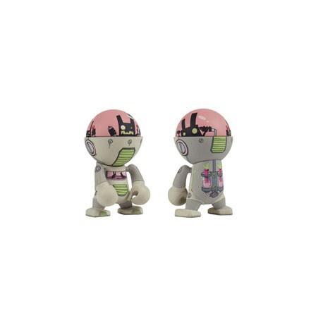 Figur Restock Trexi série 3 Wab-bot by Brandon Sopinsky Play Imaginative Designer Toys Geneva