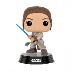 Figurine Pop Star Wars The Force Awakens Rey Battle Pose (Rare) Funko Boutique Geneve Suisse