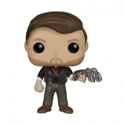 Figur DAMAGED BOX Pop Games Bioshock Booker Dewitt with Skyhook (Vaulted) Funko Geneva Store Switzerland