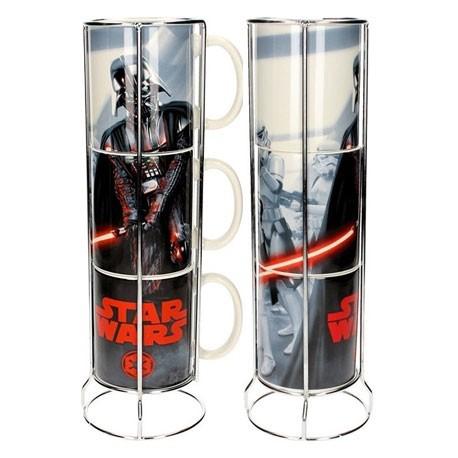 Figur 3 Star Wars Vader And Stormtroopers Mug Stackable Christmas Selection Geneva