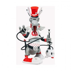 Figurine Dweezil Dragon Rouge 37 cm par Kronk Kidrobot Designer Toys Geneve