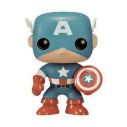 Figurine Pop Marvel Captain America Sepia 75ème Anniversaire Edition Limitée Funko Boutique Geneve Suisse