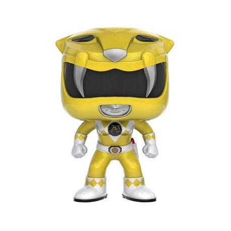 Figur Pop TV Power Rangers Yellow Ranger Funko Geneva Store Switzerland