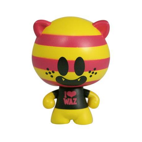 Figuren Stereotype Acid Personnage 9 von Superdeux Red Magic Designer Toys Genf