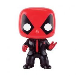 Figurine Pop Marvel Deadpool en Costume et Cravatte Edition Limitée Funko Boutique Geneve Suisse