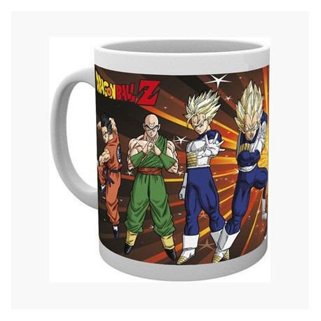 Figurine Tasse Dragon Ball Z Fighters Hole in the Wall Boutique Geneve Suisse