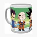 Dragon Ball Z Chibi Mug