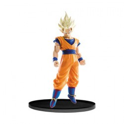Figuren Dragon Ball Super SCultures Figure Big Budoukai Super Saiyan 2 Goku (21 cm) Banpresto Genf Shop Schweiz