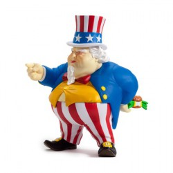 Figurine Kidrobot Uncle Scam par Ron English Kidrobot Boutique Geneve Suisse