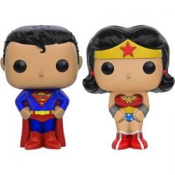 Figur Pop DC Superman and Wonder Woman Salt and Pepper Set Funko Geneva Store Switzerland