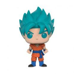 Figurine Pop Dragonball Z SSG Super Saiyan Goku Bleu Edition Limitée Funko Boutique Geneve Suisse