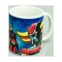 Grendizer Goldorak and Mazinger Mug