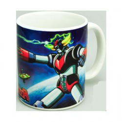 Grendizer Goldorak and Blacky Space Ship Mug