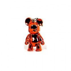 Qee mini Bear Metallic Orange