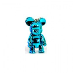Qee mini Bear Metallic Blue