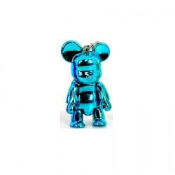 Qee mini Bear Metallic Bleu