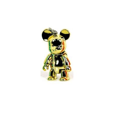 Figurine Qee mini Bear Metallic Or Toy2R Qee Geneve
