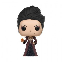 Figurine Pop Once upon a Time Regina with Fireball (Rare) Funko Boutique Geneve Suisse