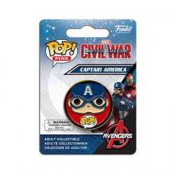 Funko Pop Pins Captain America