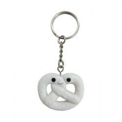 Figur Yummy World Pretzel Keychain by Kidrobot Kidrobot Geneva Store Switzerland