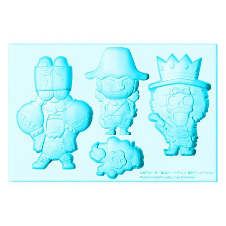Figurine Bac à glaçons One Piece Usopp Franky & Brook New World Boutique Geneve Suisse