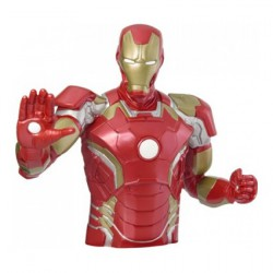Marvel Iron Man Bust Bank
