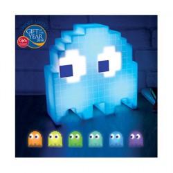 Figurine Lampe Pac-Man Ghost 16 couleurs Paladone Boutique Geneve Suisse