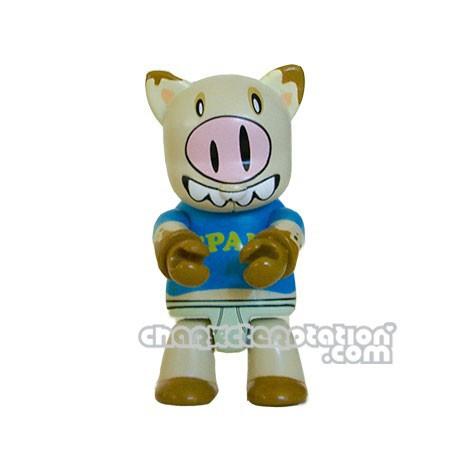 Figurine Restock Qee Designer 5C Spam par Bobby Novoa Upper Playground Boutique Geneve Suisse
