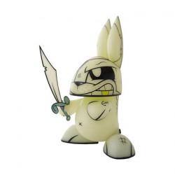 Figurine Chaos Ghost Pirate Bunny Phosphorescent par Joe Ledbetter Designer Toys Geneve