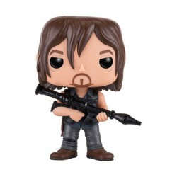 Figurine Pop The Walking Dead Daryl with Rocket Launcher Funko Boutique Geneve Suisse