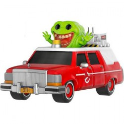 Figuren Pop SDCC 2016 Movies Ghostbusters Ecto 1 with Slimer Limitiert Funko Genf Shop Schweiz