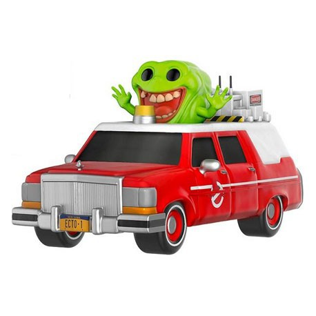Figur Pop SDCC 2016 Movies Ghostbusters Ecto 1 with Slimer Limited Funko Funko Pop! Geneva