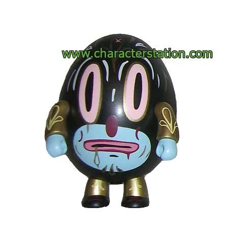 Figurine Qee Hump Qee Dump Noir par Gary Baseman Toy2R Boutique Geneve Suisse