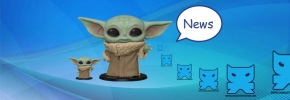 Pop in store The Child Baby Yoda 25 cm